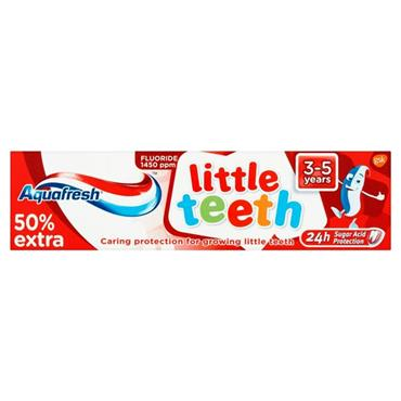 AQUAFRESH LITTLE TEETH 3 TO 5 YEARS 50ML