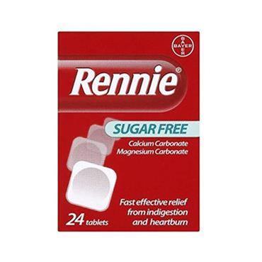 RENNIE SUGAR FREE 24