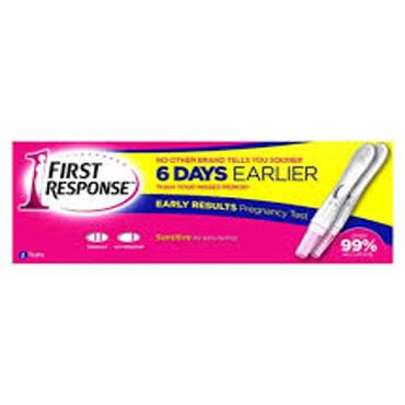 first response pregnancy test 1