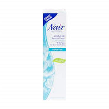 NAIR HAIR REMOVER SENSITIVE LEG & BODY CREAM