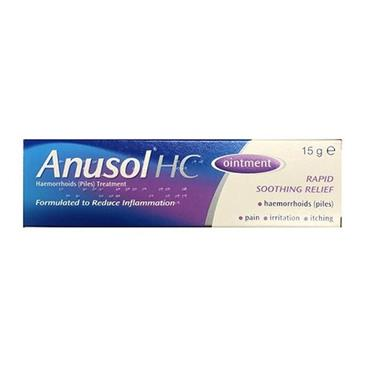 ANUSOL HC OINTMENT 15G