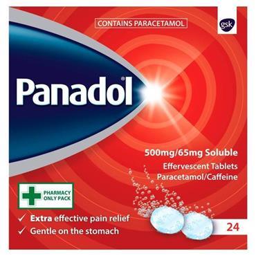 Panadol Extra Soluble 24's