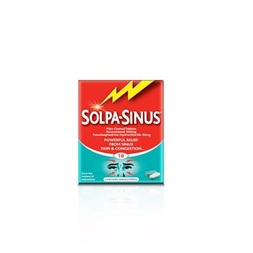 SOLPASINUS TABLETS 18