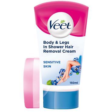 veet In Shower Cream Sensitive 150ml