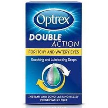 optrex Double Action Drops for Itchy Eyes 10ml