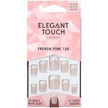 Elegent Touch French Pink 126 Nails