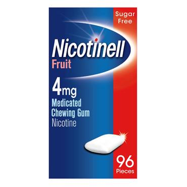 Nicotinell Fruit 4Mg Gum 96's