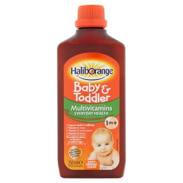 Haliborange Baby & Toddler Multivitamin Orange Liquid