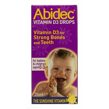 ABIDEC VITAMIN D3 DROPS 0 TO 3 YEARS 25ML