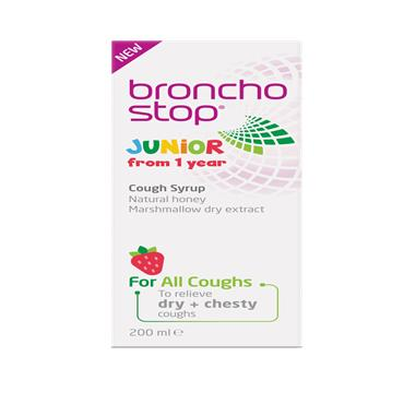 BRONCHOSTOP JUNIOR SYRUP 200ML