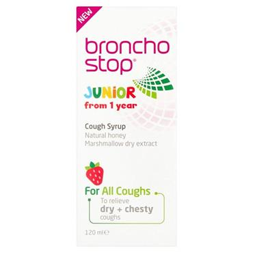 BRONCHOSTOP JUNIOR SYRUP 120ML