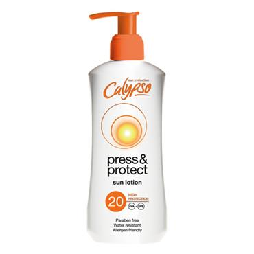 CALYPSO PRESS & PROTECT SUN LOTION SPF 20 200ML