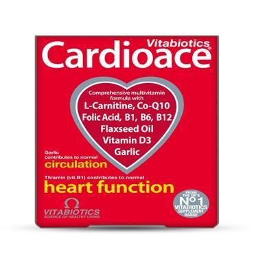 Vitabiotics Cardioace Tablets 30's