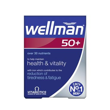 Vitabiotics WellMan 50 Plus 30's