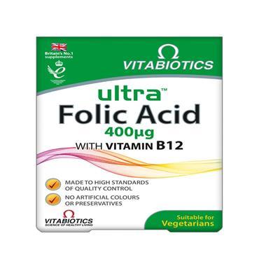 Vitabiotics Ultra Folic Acid 96