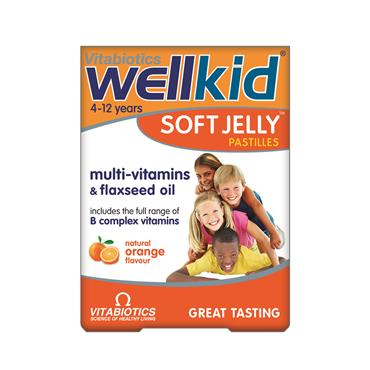 Vitabiotics Wellkid Soft Jelly Orange 30