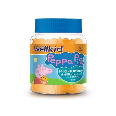 Vitabiotics Wellkid Peppa Pig Pro Tummy 30's Pastilles