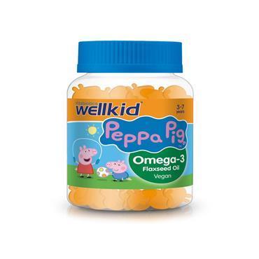 Vitabiotics Wellkid Peppa Pig Omeaga 3 30's Pastilles