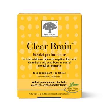 Clear Brain Tablets 60