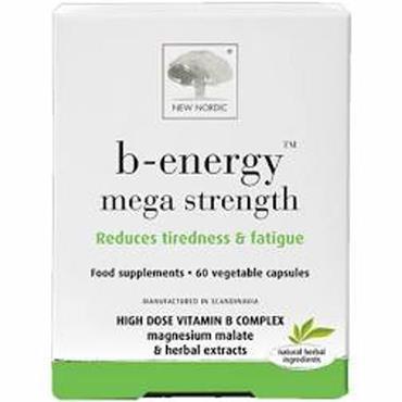 B ENERGY MEGA STRENGTH CAPSULES 60