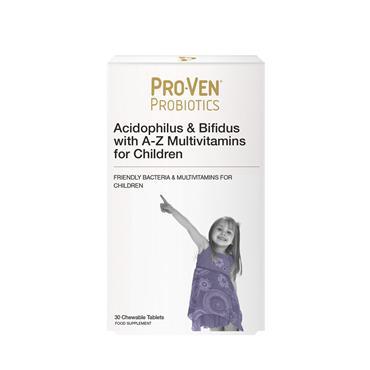 PROVEN PROBIOTIC CHILD 30 CHEWABLES
