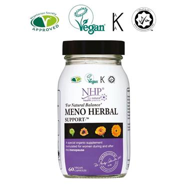 NHP MENO HERBAL SUPPORT CAPSULES 60s