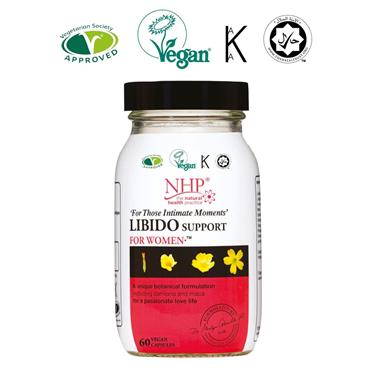 NHP LIBIDO SUPPORT FOR WOMEN CAPSULES 60s