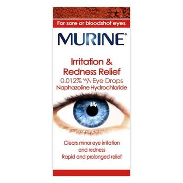 MURINE IRRITATION & REDNESS RELIEF DROPS 10ML