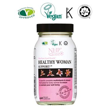 NHP HEALTHY WOMAN SUPPORT CAPSULES 60s