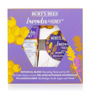 Burts Bees Lavender & Honey Lip Butter & Hand Cream