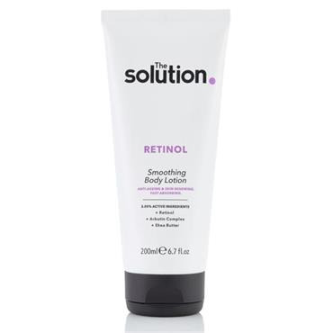 THE SOLUTION RETINOL SMOOTHING BODY LOTION 200ML