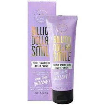Billion Dollar Smile Purple Teeth Whitening Polish