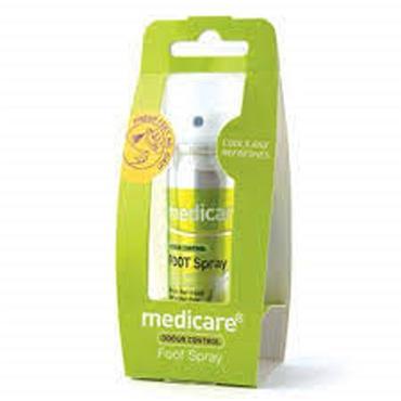 Medicare Odour Control Foot Spray 70ml