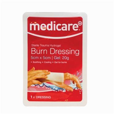 MEDICARE BURN DRESSING 5CM X 5CM (1)