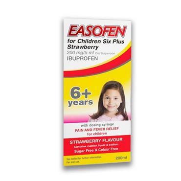 Easofen For Children Suspension 6 Years + 200ml