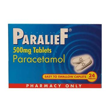 Paralief tablets 24s