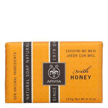 Apivita Natural Soap Honey 125g