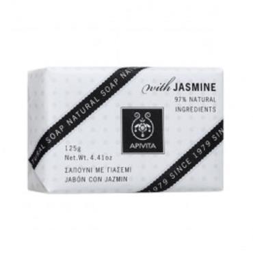 Apivita Natural Soap Jasmine 125g