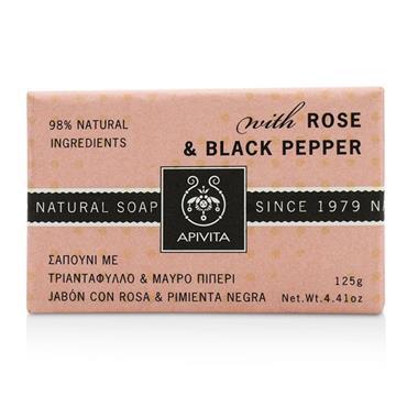 Apivita Natural Soap Rose 125g