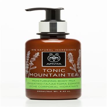 Apivita Mountain Tea Body Milk 200ml