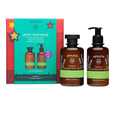 Apivita Mountain Tea Body Gift Set
