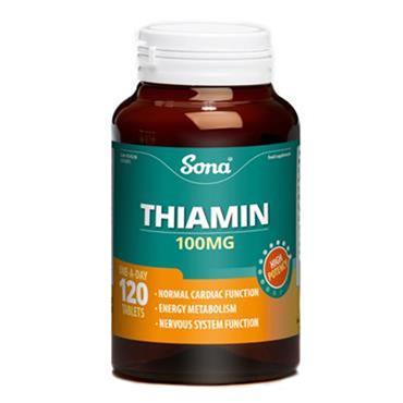 Sona Thiamin B1 tablets 120
