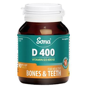 Sona Vitamin D 400 tablets 90