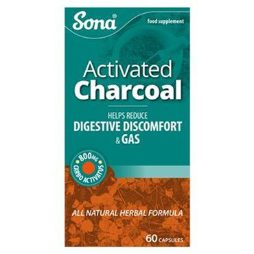 Sona Activated Charcoal capsules 60