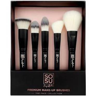 SoSu Premium 5PCE  Make up Brushes