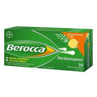 BEROCCA ENERGY ORANGE 30S