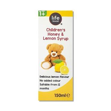 LIFEBOOST CHILDRENS HONEY + LEMONY SYRUP