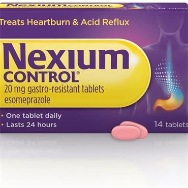 Nexium Control Tabs 14's