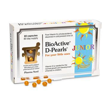 Pharmanord BioActive VITAMIN D-Pearls Junior 80