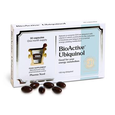 Pharmanord Bioactive Ubiquinol Capsules 30s`